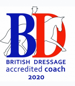 British Dressage accredited coach 2020